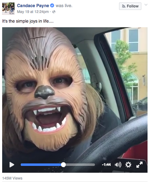 Chewbacca Mask Video Screenshot